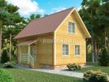 Проект дома из бруса №8 (6Х9)