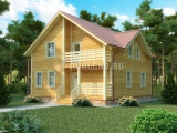 Проект дома из бруса №6 (9,5Х10)