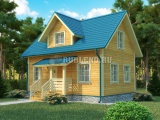 Проект дома из бруса №10 (9Х6)